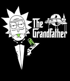 Rick The Godfather poster. Rick and Morty Halloween Wallpaper Iphone, Halloween Backgrounds, Cartoon Wallpaper, Rick And Morty Quotes, Rick And Morty Poster, Rick Und Morty Tattoo, Pintura Hippie, Rick And Morty Crossover, Rick And Morty Drawing