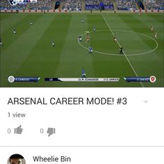 Check out my latest fifa career mode episode! Youtube: WheelieBin  Check out my gaming channel, any support is appreciated!  Thanks