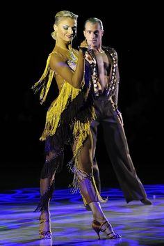 """Women's Latin showdance costume """"The Move""""  My favorite costume, the best I've ever seen."""