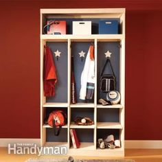 Entryway Storage And Organizer
