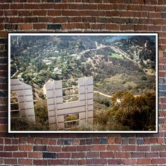 Hollywood Sign Los Angeles Photography Large Wall by PocketsofFilm