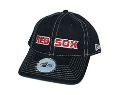 f4e7c46b3 Boston Red Sox Adjustable One Size Fits All Wordmark Hat ... Boston Red Sox
