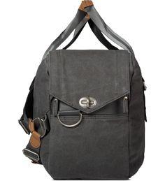 Washed Grey Weekender Bag