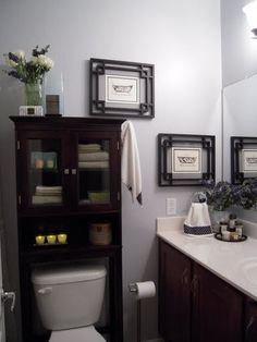 Spaces Over The Toilet Cabinet Design, Pictures, Remodel, Decor and Ideas - page 2