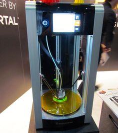 Mass Portal's Pharaoh Delta 3D Printer #3DPrinting