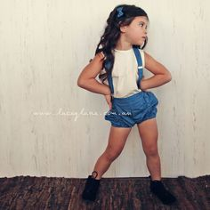 Aria Suspenders by Lacey Lane - Blue and white 100% Cotton straps - Adjustable Straps - High waisted - ONE SIZE Pair with any Lacey Lane Top and Pucker Bloomers for a great match. Lacey Lane Suspenders are made to be worn with High Waisted Bottoms.