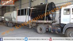 Our Company Dispatched Asphalt Drum Mix Type Hot Mix Plant(Model DM-60 Capacity 90/120 T/H) At #Karnataka ,#India  Mr.Dipak Chaudhary :-9825322472 www.kesarequipments.com