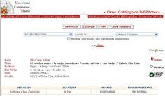 """""""El Hombre Masa y la Mujer Panadera"""" en la Biblioteca de la Universidad Complutense de Madrid."""
