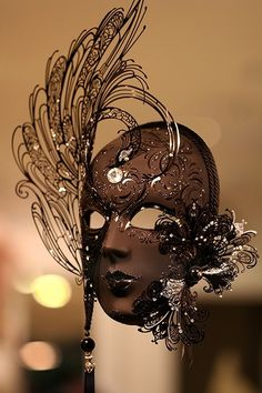 Elegant Masquerade Mask #masks, #masquerades, #fashion, #beauty, https://facebook.com/apps/application.php?id=106186096099420