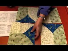 I've watched this a couple of times. I'm still amazed how such a simple block design creates such beautiful quilt designs. As in anything it always starts with what fabric you choose. Combining the geometric pattern this block generates, with your favorite colors will keep you busy creating more designs than your hands can keep up with. …