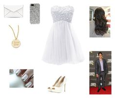 Prom with Tyler by harrystylesandliampayne on Polyvore featuring mode, Jimmy Choo, Rebecca Minkoff, Roberto Coin and Yves Saint Laurent