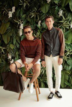 Tommy Hilfiger presenta la collezione Talilored primavera/estate 2016 alla prima Man Fashion Week di New York #stefanoguerrini #TommyHilfiger #webelieveinstyle