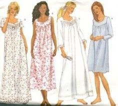 This is an online tutorial on how to sew nightgown with yoke for women. You will need to get yourself a commercial nightie sewing pattern and follown the instructions therein if you are just a beginner to dressmaking. Intermediate sewers can easily follow any online pattern instruction and make a glamorous night dress...