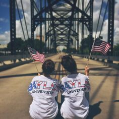It's never too late to celebrate America with these Baylor American flag shirts!