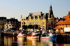 Trouville-Sur-Mer - The Top 10 Normandy sights to see in this region of France: Mont St. Michel, D-Day landing beaches, market towns painted by the Impressionist painters.