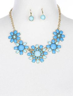 $10 Statement Sale - Happy Blue Flowers – Shop LuLu