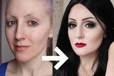 Morticia Addams Makeup Tutorial for Halloween w/Stefan Sanjati