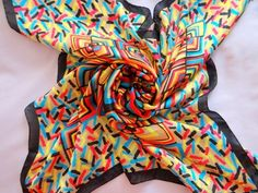 Missoni 100% silk scarf
