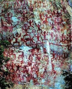 Zuojiang Huashan Rock Art - Google Search