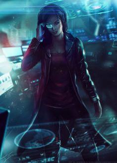 Cyberpunk, Calypso, the Illuminati Shadow by Eddy-Shinjuku on deviantART