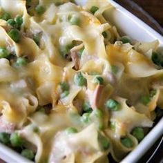 """Quick and Easy Tuna Casserole 