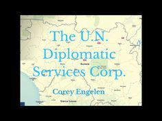In 2013, Corey Engelen founded the U.N. Diplomatic Services Corp in order to help developing communites acquire the infrastructure they need to reach their ful…