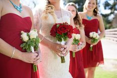red and white bouquets //long beach wedding photography Church Wedding, Wedding Bride, Floral Wedding, Wedding Blog, Fall Wedding, Wedding Styles, Wedding Planner, Wedding Stuff, Wedding Flowers