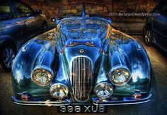1951, automobiles, autos, British, declanod, car photography, pictures, photos, pics, cars, collectable, hdr, collectible, England, green, Jaguar, racing, sports cars, UK, vintage, xk1201951 Jaguar XK120 Open Two Seater classic England