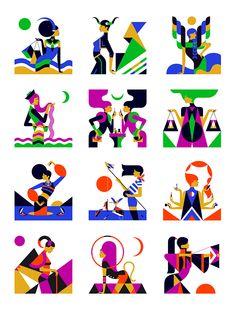 Malika Favre | Zodiac Series