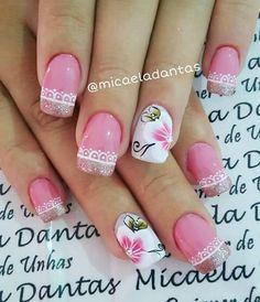 Unha delicada de Micaela Dantas. Sensitive nail by Micaela Dantas. Uña sensible por Micaela Dantas. Unghie sensibili di Micaela Dantas.