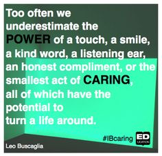 The power of compassion #IBcaring