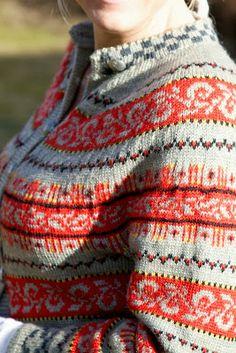 Livs Lyst: *HAUKELIKOFTE*( (with pattern)