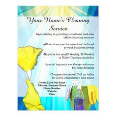 Vibrant ray business office cleaning service flyer 25 flyers 4 summer office cleaning tips to make your workplace shine Cleaning Service Flyer, Cleaning Flyers, Cleaning Maid, Office Cleaning Services, Cleaning Gloves, Cleaning Companies, Daily Cleaning, Cleaning Business, Cleaning Hacks