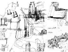 croquis de Alvar Aalto