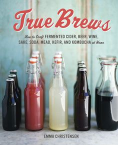 This accessible home-brew guide for alcoholic and non-alcoholic fermented drinks, from