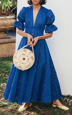 Get inspired and discover Cult Gaia trunkshow! Shop the latest Cult Gaia collection at Moda Operandi. Casual Dresses, Fashion Dresses, Summer Dresses, Party Dresses, Casual Chic, Prarie Dress, Couture, Mode Inspiration, Designer Dresses