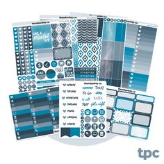 K12 // July No White Space Full Weekly Kit // Sticker Kit for Vertical Erin Condren Life Planner