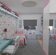 Bedroom Design And Decoration Tips And Ideas - Top Style Decor Bedroom Decor For Teen Girls, Room Ideas Bedroom, Girl Bedroom Designs, Teen Room Decor, Small Room Bedroom, Home Decor Bedroom, Home Room Design, Aesthetic Room Decor, Dream Rooms