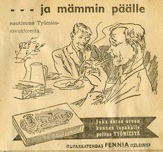 #Erva-Latvala Oy #Tupakkatehdas Fennia #Työmies-savuke #Savukemainos #Mämmi #Pääsiäinen #Tobak reklam #Efter memma #Påsk #Tobacco ad #Easter #Mämmi is traditional Finnish easter dish #Traditional Finnish easter dish Helsinki, Herbs