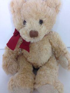 "Spencer Bear Plush Russ Berrie Pot Belly Teddy Stuffed Animal Toy 13""  | eBay"