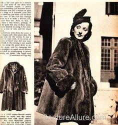 Couture Allure Vintage Fashion: Recycling a Vintage Coat