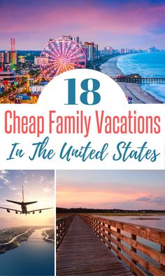 Hold on to your hats because you may not believe us when we share these cheap places to travel in the USA, but we have it on good authority that you can definitely enjoy these places on a budget!  So if you are looking for budget friendly family travel inspiration in the US, check out these cheap US vacation spots!!  #cheaptravel #familyvacation #travel #usatravel Affordable Family Vacations, Vacations In The Us, Family Vacation Spots, Best Family Vacations, Family Vacation Destinations, Vacation Trips, Family Travel, Travel Destinations, Vacation Ideas