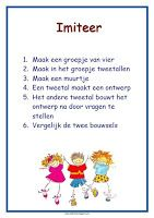 lesmateriaal en andere onderwijstips van juf Jantine: poster imiteer I Love School, School Tool, School Hacks, Co Teaching, Whole Brain Teaching, Teach Like A Champion, Cooperative Learning Strategies, Becoming A Teacher, 21st Century Skills