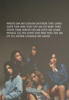 Fifth Harmony // Write On Me