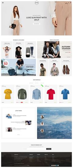 Nitan is great PSD template for eCommerce Website. It has well organized 20+ PSDs files.