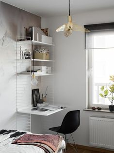 Small Home Office Decor Ideas. Making it Work: 13 Examples of Successfully Squeezing a Home Office into a Small Space Home Office Design, Home Office Decor, Office Furniture, Home Decor, Gothic Furniture, Home Office Inspiration, Interior Inspiration, Office Ideas, Home Interior