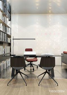 Charming Modern Office In Kiev On Behance