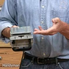 the family handyman diy expert, spike carlsen, will show you how to use a biscuit jointer to get perfect joints.
