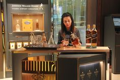 SINGAPORE. Diageo Global Travel and DFS partner in the first Johnnie Walker House in Southeast Asia and the seventh worldwide at Changi Airport T3.