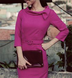 ELENA pencil vintage dress inspired from custom by heartmycloset, $93.00